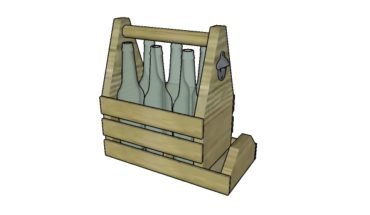 Cum se construieste un suport de sticle de bere cu deschizator
